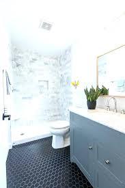 gray hexagon floor tile grey bathroom tiles white grout
