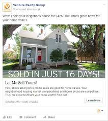 Real Estate Advertising 43 Great Examples Of Real Estate Facebook