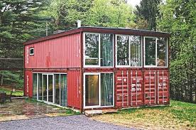 In this case, one can get the shipping container home made at a local  workshop and then the finished product can be delivered to the plot of land.