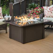 table fire pit. grandstone fire pit table - brown   woodlanddirect.com: outdoor fireplaces: pits gas, the greatroom