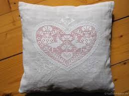 Be A Heart Design Pillow With A Heart Design Luzine Happel