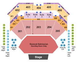 Choctaw Concert Seating Chart Choctaw Casino Resort Seating Chart Durant