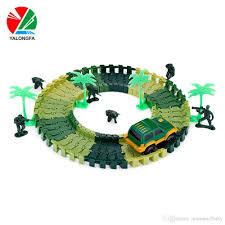 railway road magical mini racing tracks glowing flexible stunt race track luminous toys for boys children s railroad slot cars building model building kits