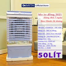 Quạt Hơi Nước Điều hòa nhật bản DAMITA 40l 50l 60l hơi nước MÔ TƠ ĐỒNG hàng  cao cấp ảnh thật giao trong ngày tại hà nội giá cạnh tranh