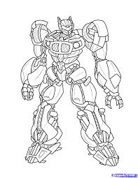 Coloriage Transformers Robots In Disguiselllll