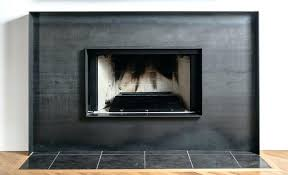 metal fireplace surround sheet steel stainless gas