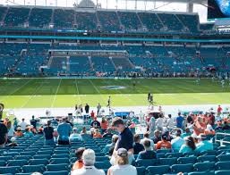 Miami Dolphins Hard Rock Stadium Seating Chart Hard Rock Stadium Section 119 Seat Views Seatgeek