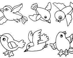 Bird Coloring Pages Birds Colouring Pictures For Kids Ideas