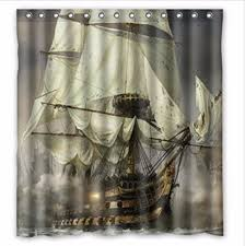 online buy wholesale pirate ship shower curtain from china pirate