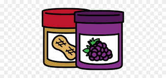 peanut butter and jelly clipart. Jar Of Peanut Butter And Jelly Sandwich Clipart For