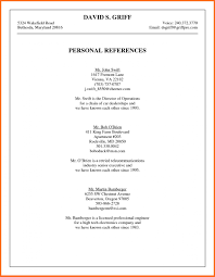 Reference List Format For Resume 007 Professional Reference List Template Resume X Ulyssesroom