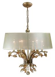 uttermost 21246 alenya 29 inch diameter large burnished gold finish vintage chandelier loading zoom