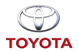 toyota logo red. toyota emblem by motor corporation company information logo red