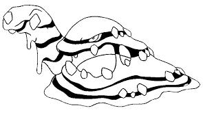 Kleurplaat Pokémon Alola Formen Alola Muk 15