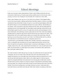 school shootings charles andrew williams essay studienet dk school shootings charles andrew williams essay