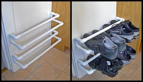 Shoe Rack Made From Pvc Pipe