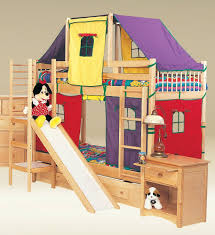 cool kids beds with slide. Beautiful Kids Cool Bunk Beds For Kids Rustic Cheap Bed Frames  Canada Modern To With Slide