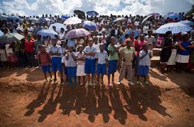 photos rwanda genocide th anniversary com rwandan children wait for a torch ceremony where hundreds gathered for the arrival of a small