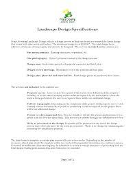 landscape maintenance proposal template lawn care proposal template 9 service contract templates free word