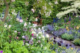 Gardens  The Enduring GardenerRomantic Cottage Gardens