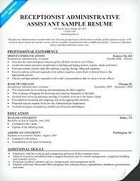 Resume Objective Examples Dental Receptionist Samples For Front Desk Enchanting Career Ambitions Examples Resume