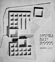 competition project residential complex in san rocco monza  competition project residential complex in san rocco monza 1966 aldo rossi