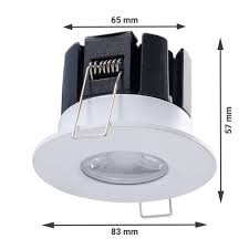 Intoled Complete Set Of 3 Dimmable Bluetooth Led Downlight Stockholm 10 Watt Ip65 5 Year Warranty