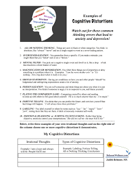 psychoeducational handouts quizzes and group activities judith other psychoeducational handouts and worksheets