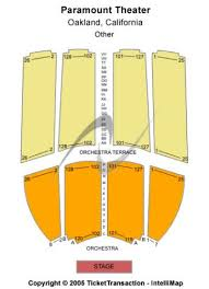 Paramount Theatre Oakland Ca Seating Chart Paramount Theatre Tickets And Paramount Theatre Seating