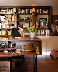 office man cave ideas. Man Cave Ideas Modern Home Office Eclectic With Crown Molding Desk