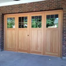 bi fold garage doorsCustom 9 X 14 Douglas Fir BiFold Garage Doors by The Plane Edge