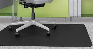chair mat. black chair mats for low pile carpets - 36 mat g