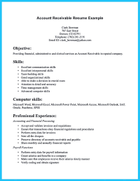 Accounts Receivable Skills For Resume Profesional Resume Template