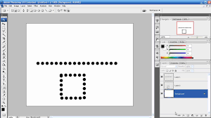 I just started using gimp. Photoshop Tutorial Episode 25 Dotted Dashed Line Youtube