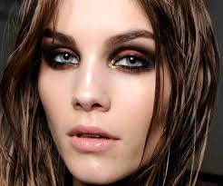 cool makeup ideas gold eye shadow