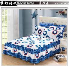 bed sheets printed. Simple Printed 100 Cotton Bed Sheets Printed Double Layers Lace Sheet Skirt Mattress  Protective Case Cover Bedskirt Free Shipppingin Bed Skirt From Home  With Sheets Printed E