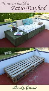Image Outdoor How To Build Patio Daybed Using Pallets Love This Idea Pinterest Pallet Project Patio Day Bed Backyard Diy Patio Patio Daybed