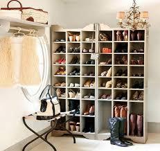 dazzling closet shoe rack