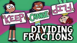 Counting Poems Flip Chart Dividing Fractions With Keep Change Flip Fractions Rap Song