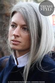 De Verborgen Agenda Van Kapsels Grijze Kapsels Halflang Haar