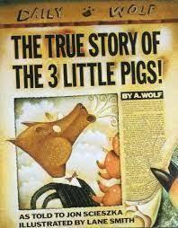 the paperback of the the true story of the three little pigs la verdadera historia de los tres cerditos by jon scieszka lane smith