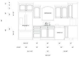 Kitchen Cabinet Dimensions Chart Standard Kitchen Cabinet Size Beautydestinations Co