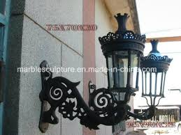 outdoor wall decoration wrought cast iron lamp lighting sy ci023