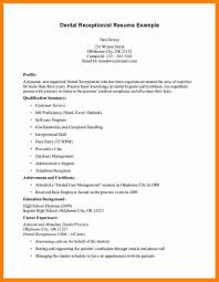 7 Medical Receptionist Resume Examples Format Of Acv