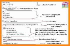 format of formal letter to editor 11