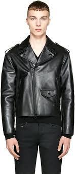 classic leather jacket mens black biker vintage uk