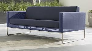 Dune Navy Outdoor Fabric Sofa