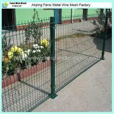 powder coated v folded garden wire mesh fencing panels 5