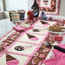 Cake & Ice Cream: Table Runner or Banner Quilt Pattern | templates ... & Cake & Ice Cream: Table Runner or Banner Quilt Pattern Adamdwight.com