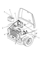 2006 jeep wrangler engine partment diagram i2102307